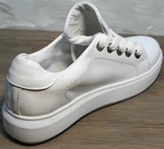 Стильные кеды женские Molly shoes 557 Whate