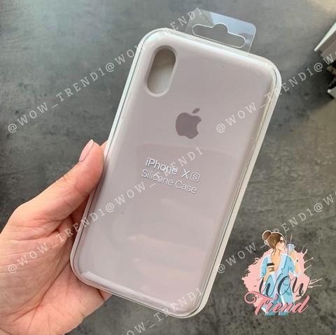 Чехол iPhone 6+/6S+ Silicone Case Full /lavender/ лаванда