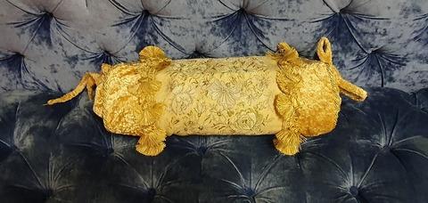 Наволочка декоративная валик