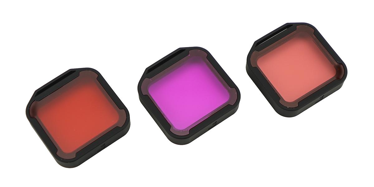 Набор фильтров PolarPro Aqua 3-Pack HERO 5/6/7 Black
