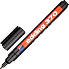 Маркер перманентный Edding E-370/1 черный (толщина линии 1 мм)
