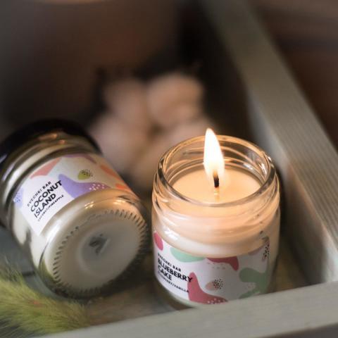 Подарочный набор 4 арома свечи With Love