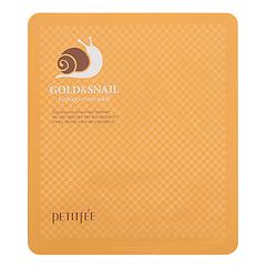 Petitfee Маска гидрогелевая с золотом и муцином улитки - Gold&snail hydrogel mask, 50г