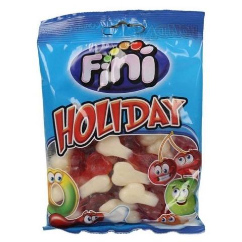 Жевательный мармелад Fini Holiday со вкусом клубники 100 гр