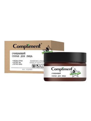Compliment ECO BEST Очищающий скраб для лица