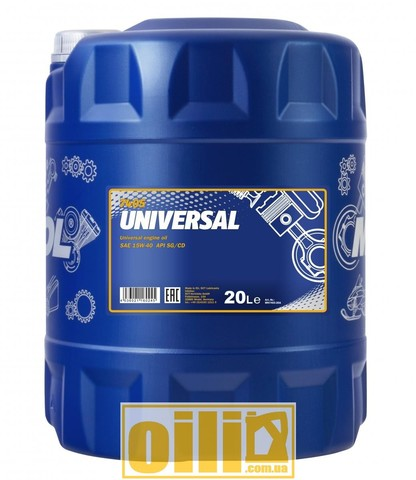 Mannol 7405 UNIVERSAL 15W-40 20л