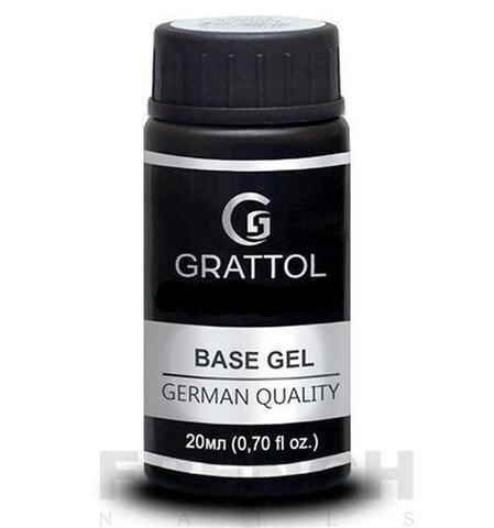Каучуковая база Grattol Rubber Base Gel Royal, 20 мл
