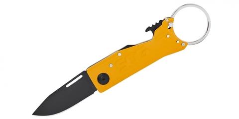 Складной нож SOG KT1005 KeyTron Caution Yellow (маленький)