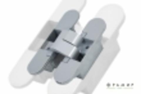 Скрытая усиленная петля Фрамир SC Матовый Хром