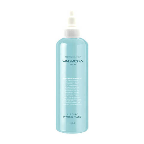 [VALMONA] Маска для волос УВЛАЖНЕНИЕ Blue Clinic Protein Filled, 200 мл