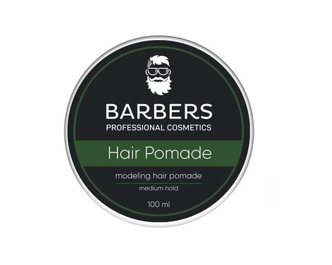 Помада для волосся Barbers Modeling Hair Pomade Medium Hold 100 мл (3)