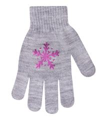 Перчатки детские для девочки тм Yo (7-9)