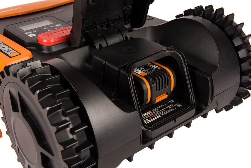 Роботизированная газонокосилка Worx Landroid L WR153E 1500м²