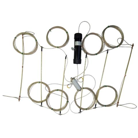 Широкодиапазонная КВ антенна Radial T2-FD-100