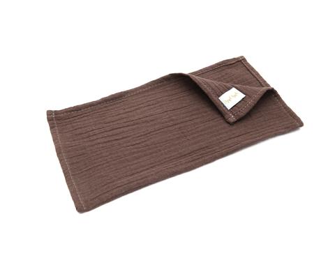 Муслиновая салфетка-шоколад (27х27 см)