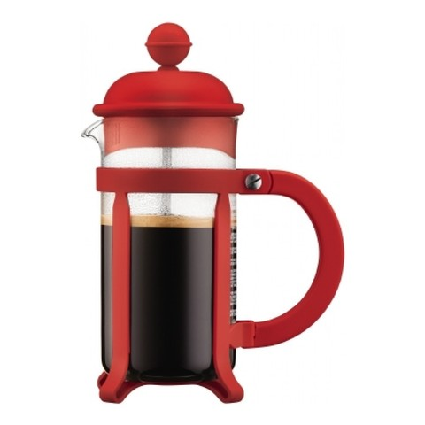 Френч-пресс Bodum Java (0,35 литра), красный