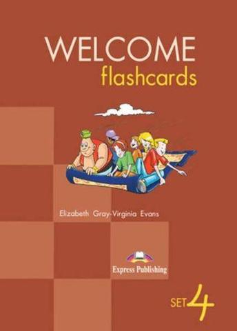 Welcome Aboard 4. Picture Flashcards. Раздаточный материал