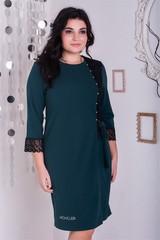 Франческа. Гарне плаття великих розмірів. Смарагд