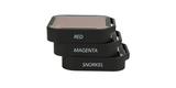Набор фильтров PolarPro Aqua 3-Pack HERO 5/6/7 Black вид сбоку