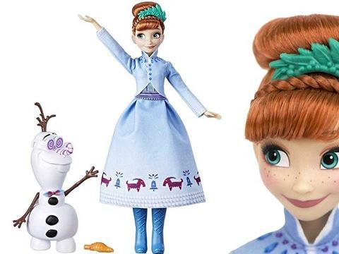 Кукла Анна Приключение Олафа