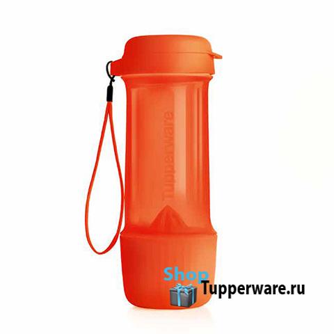 Бутылка Эко Витаминный заряд (700мл) в оранжевом цвете