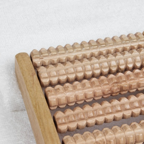 Массажёр Счёты, деревянный, 9 рядов, большой