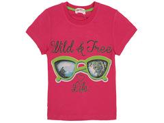 S702-4 футболка детская, малиновая
