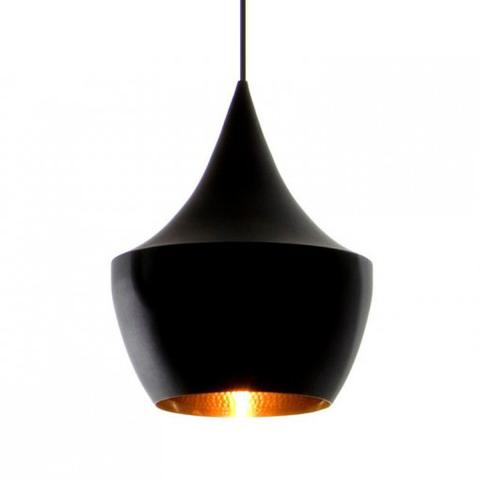 Подвесной светильник копия Beat Light Fat by Tom Dixon (черный)