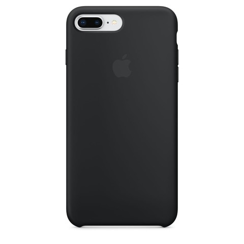 Чехол IP6 PLUS Silicone Case Black