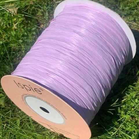 Раффия Ispie Lavender натуральная