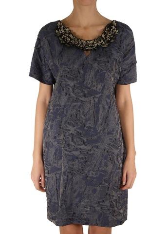 Платье из вискозы и шелка JO NO FUI
