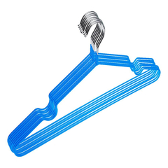 Вешалка-плечики ET_Attache.металл.ПВХ покрытие 10 шт/уп. Р.48-50 голубой