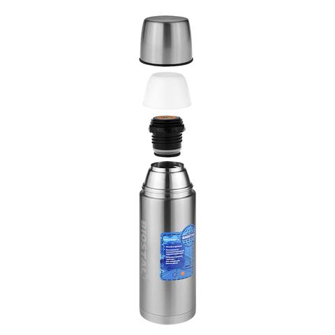 Термос Biostal Авто (0,75 литра) с термочехлом, стальной