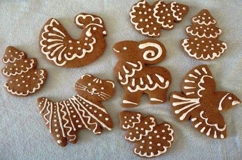 Пряники-фигурки животных. Изготовлены без глютена