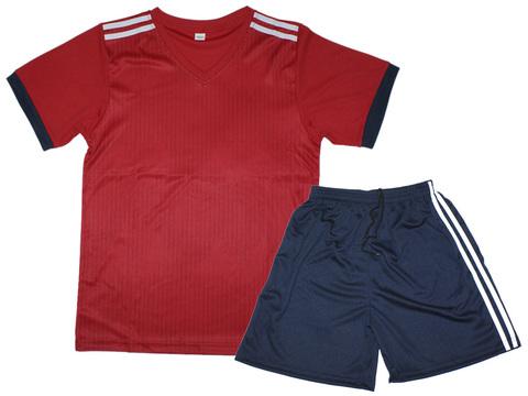 Форма футбольная. Цвет красный с белыми полосками. Размер 50. Материал: полиэстер. F-BV-50# EU-44#