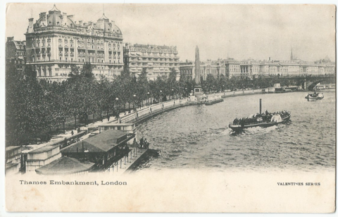 Thames Embankment. London