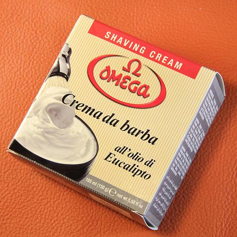 Крем для бритья Omega Eucalipto