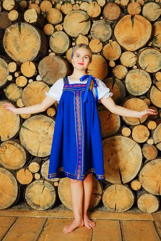 Костюм Русская красавица для танцев