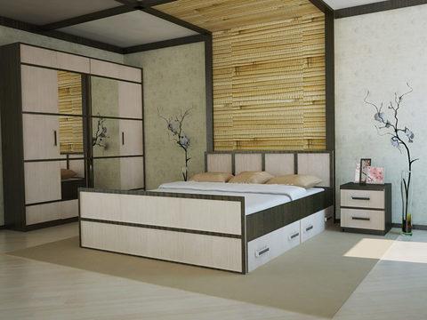 Спальня модульная Сакура-4