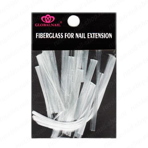 Стекловолокно для наращивания и ремонта ногтей GLOBALNAIL Fiberglass