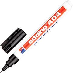 Маркер перманентный Edding E-404/1 черный (толщина линии 0.5-1мм)