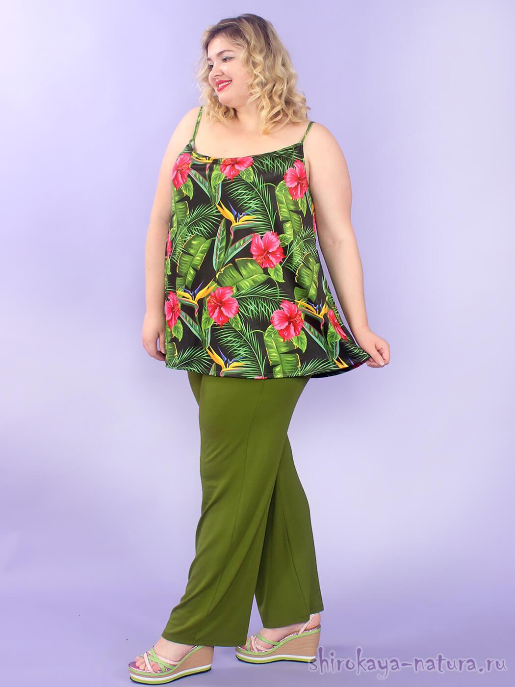 Женские брюки на лето 72 размера