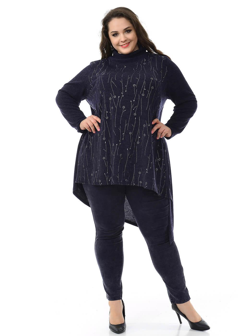 Купить тунику джемпер 76 размера женский