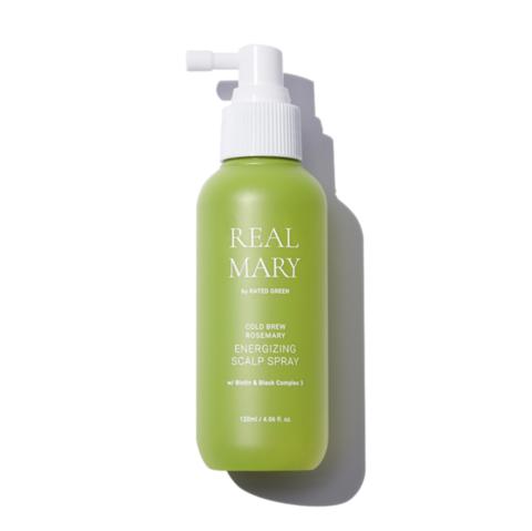 Rated Green Энергетический спрей для кожи головы с соком розмарина REAL MARY Energizing Scalp Spray
