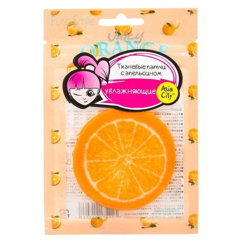 Патчи увлажняющие кожу SunSmile с апельсином 10 шт