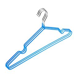 Вешалка-плечики ET_Attache.металл.ПВХ покрытие 3 шт/уп. Р.48-50 голубой