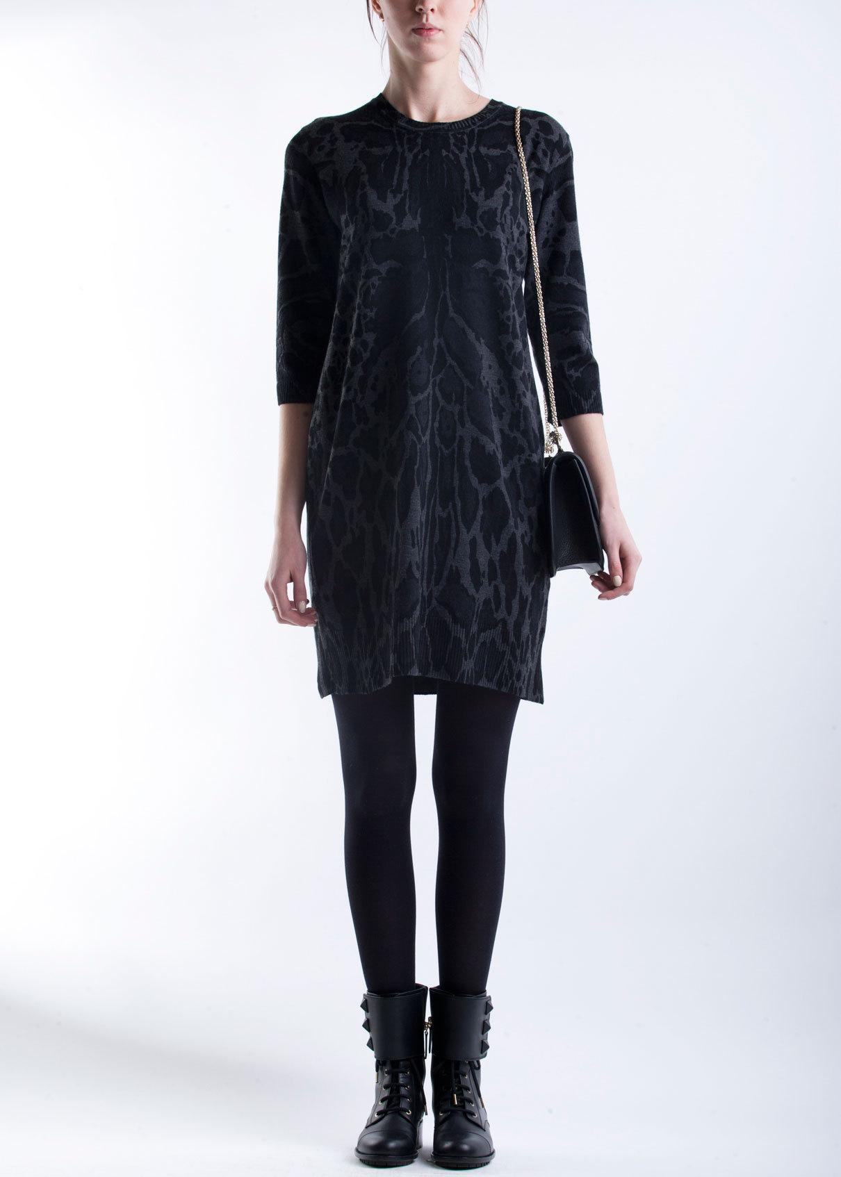 Платье из шерсти ROBERTO CAVALLI