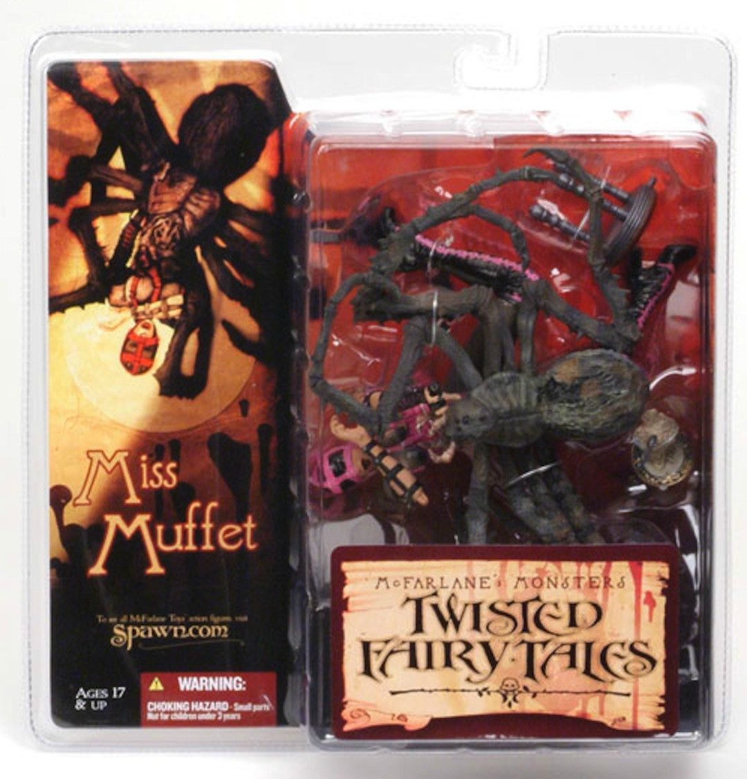 Monsters Series 4: Twisted Fairy Tales - Miss Muffet