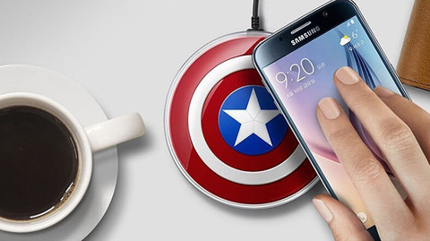 Samsung Pad Wireless Charger Capitan America