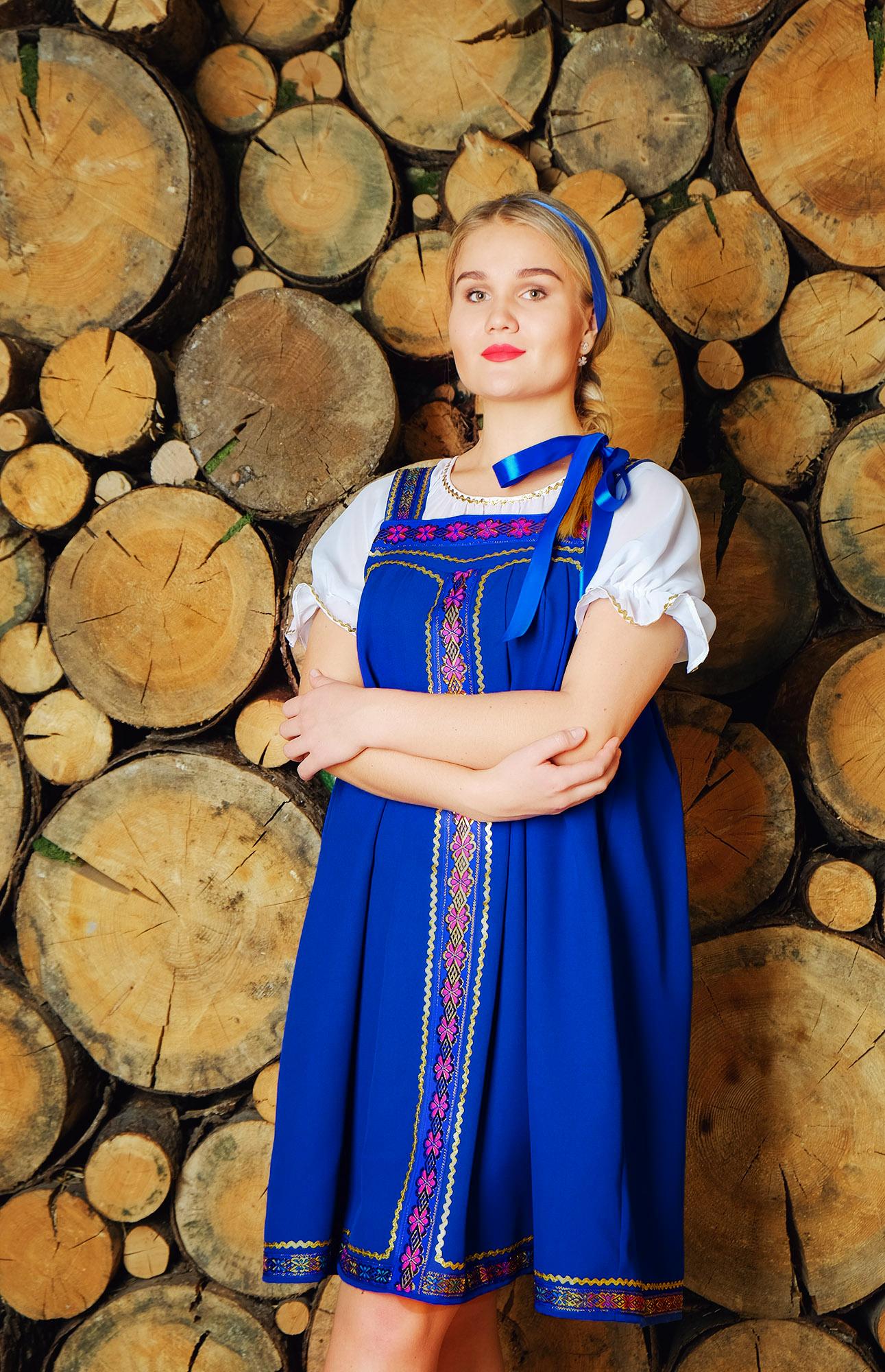 Костюм Русская красавица для песен